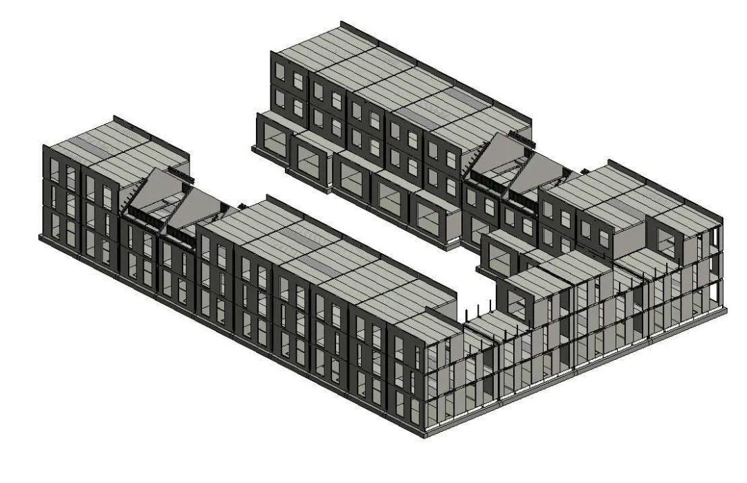 hefkwartier fase C 3d constructief