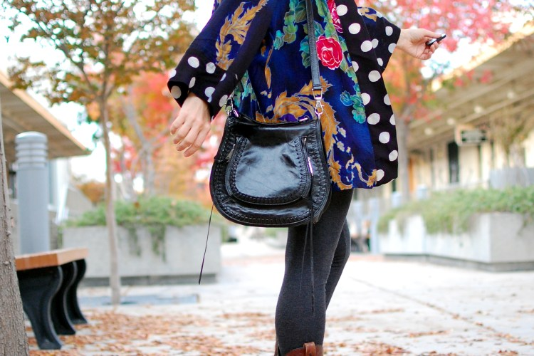 kimono thrift western boot style ootd whatiwore2day