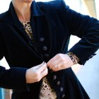 christian dior velvet jacket vintage outfit ootd style cutoffs