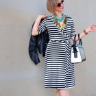 stripes interview business creative ootd whatiwore2day