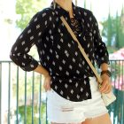 disneyland travel outfit capsule black and white ootd whatiwore2day