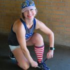 american flag socks hat memorial day outfit ootd whatiwore2day