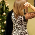 leopard floral pattern mix daily outfit blog ootd whatiwore2ay