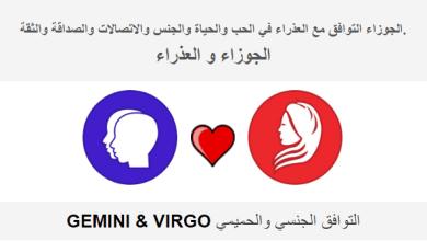 Photo of الجوزاء التوافق مع العذراء في الحب والحياة والجنس والاتصالات والصداقة والثقة