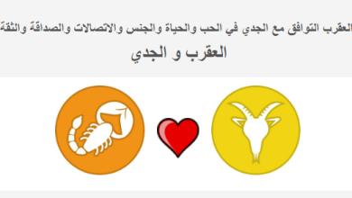 Photo of العقرب التوافق مع برج الجدي في الحب والحياة