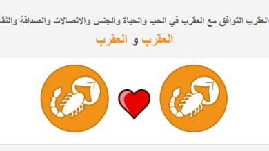 Photo of برج العقرب التوافق مع العقرب في الحب والحياة