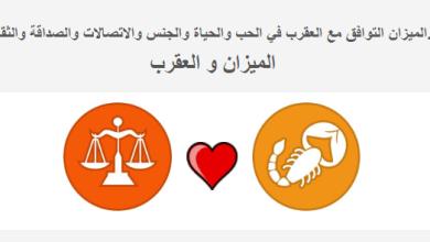 Photo of الميزان التوافق مع العقرب في الحب والحياة توافق علامة الميزان وبرج العقرب