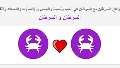 Photo of توافق برج السرطان مع السرطان في العلاقة