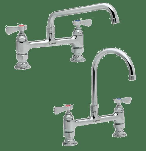 8 deck mount faucets kason industries