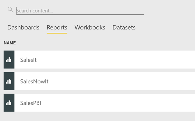 Change your Power BI report to point to an external SSAS model