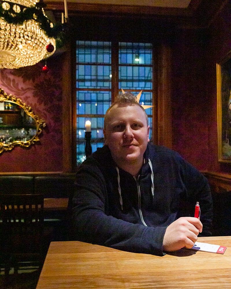 Restaurangchef Johan