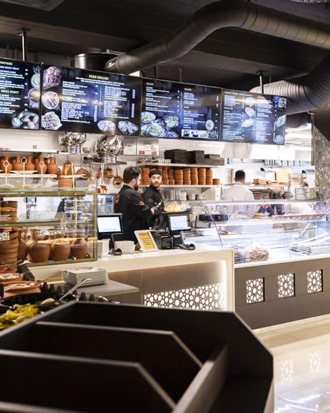 Syriansk restaurang