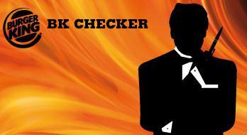 BURGER KING Checker