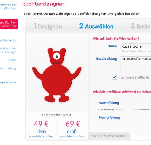 mystofftier.com Beispiel