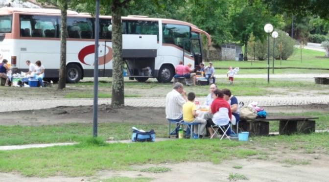 Portugiesen beim Picknick