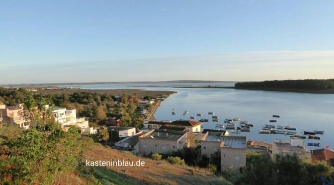 Die Lagune von Moulay Bousselham (MA)