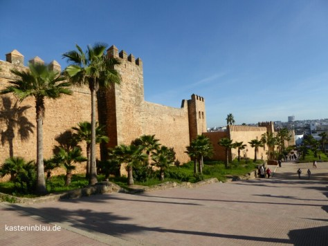 Kasbah-Mauer
