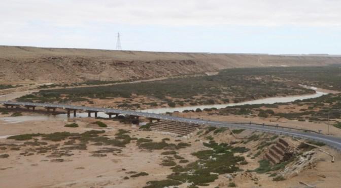 West-Sahara-Fahrt: vom Oued Chbika zum Oued Ma Fatma (30 km)