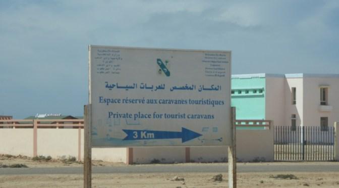 "West-Sahara-Fahrt: vom ""Kilometer 25"" (Dahkla-Halbinsel) nach Dakhla"