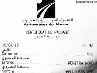 maut autobahn marokko