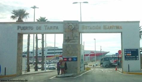 Hafeneinfahrt Tarifa