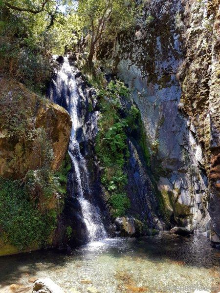 Wasserfall Fraga da Pena in Portugal