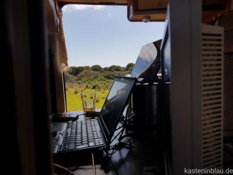 Arbeiten als digitaler Nomade im Wohmmobil