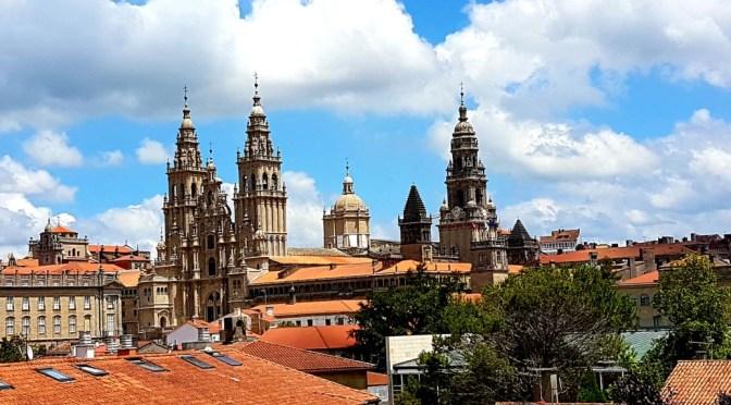 Unsere Tour durch Nordspanien /  Galicien: Tolle Wasserfälle und schöne Städte