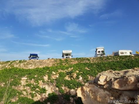 Stellplatz La Dune Roadtrip Marokko kasteninblau