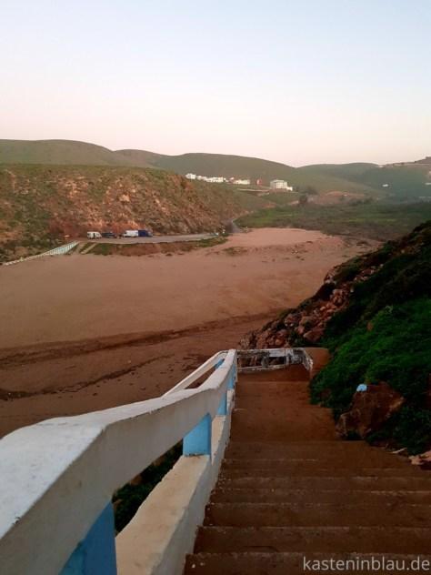 Strand in Mirleft Marokko