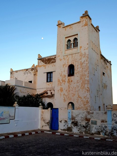 Marokko: Sidi Ifni kasteninblau