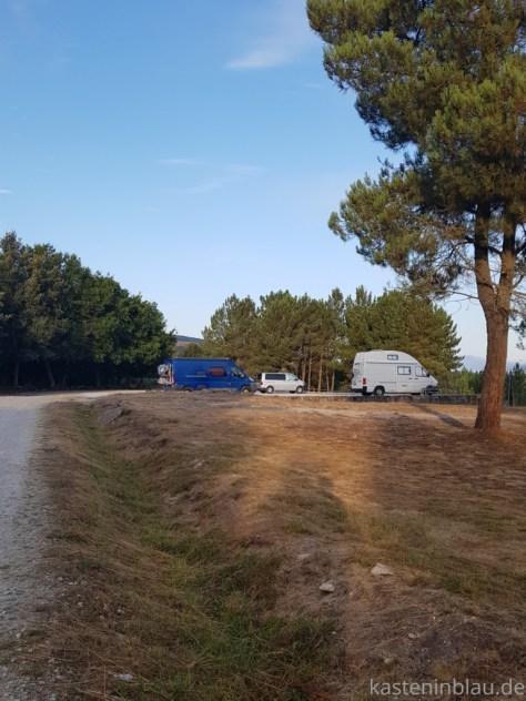 Galicien: Die Sil Schlucht mit dem Wohnmobil