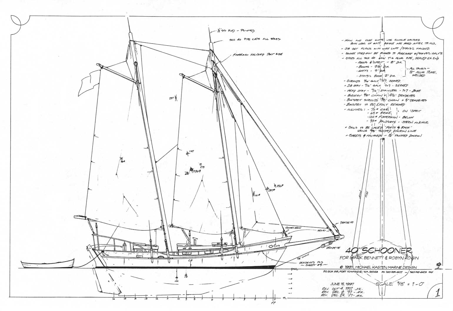 Wood Canoe Plans Schooner Plans Hallett Boats Baron