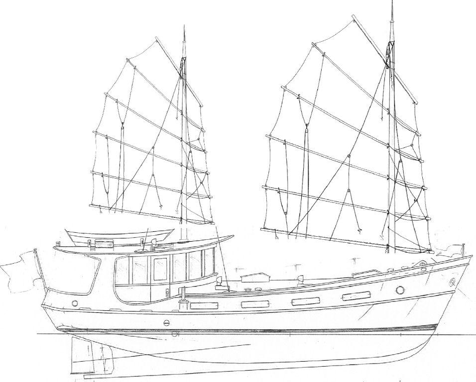 46' Trawler Yacht GULLIVER