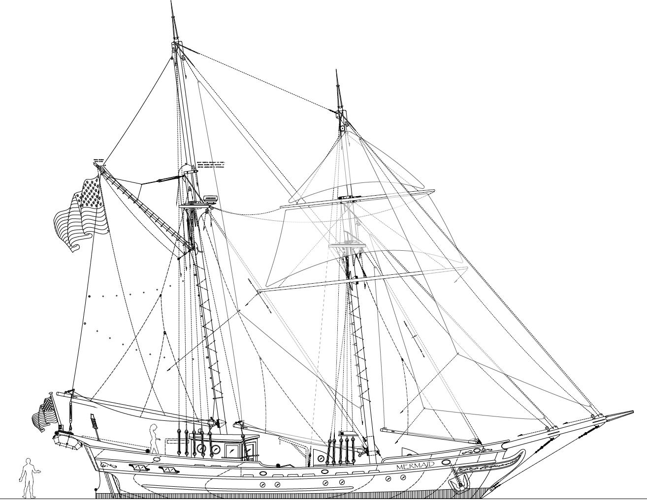61 Brigantine Mermaid