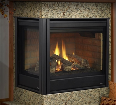 Gas Fireplaces  Corner Series  Kastle Fireplace