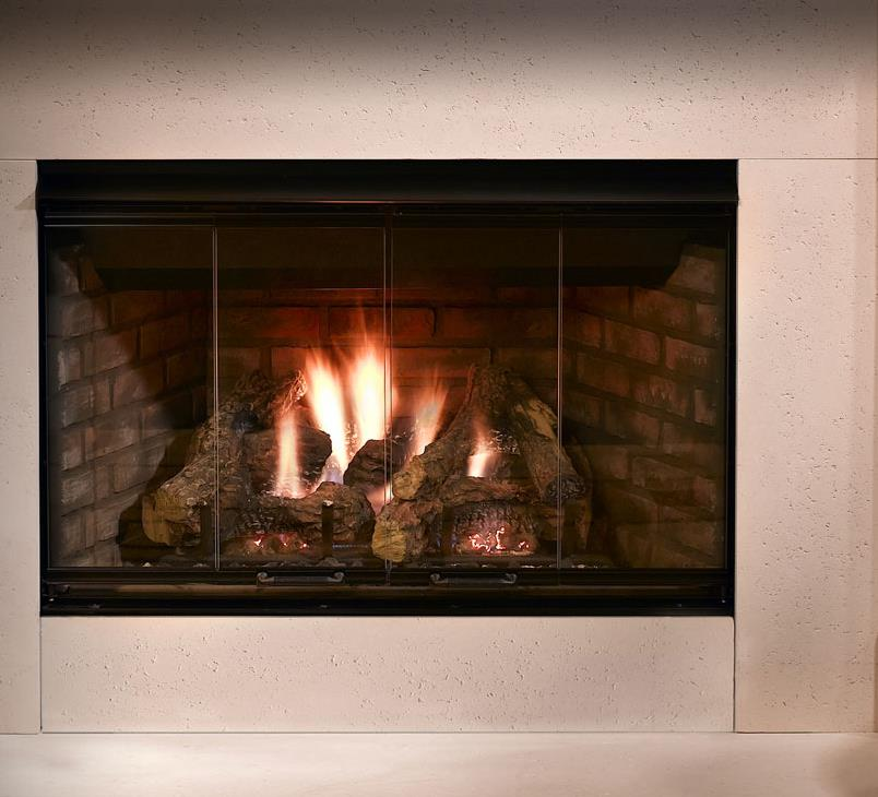 Gas Fireplaces  Reveal  Kastle Fireplace