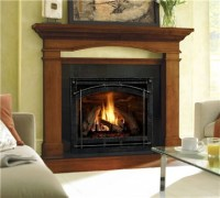 CORNER FIREPLACES: VENTED GAS CORNER FIREPLACE