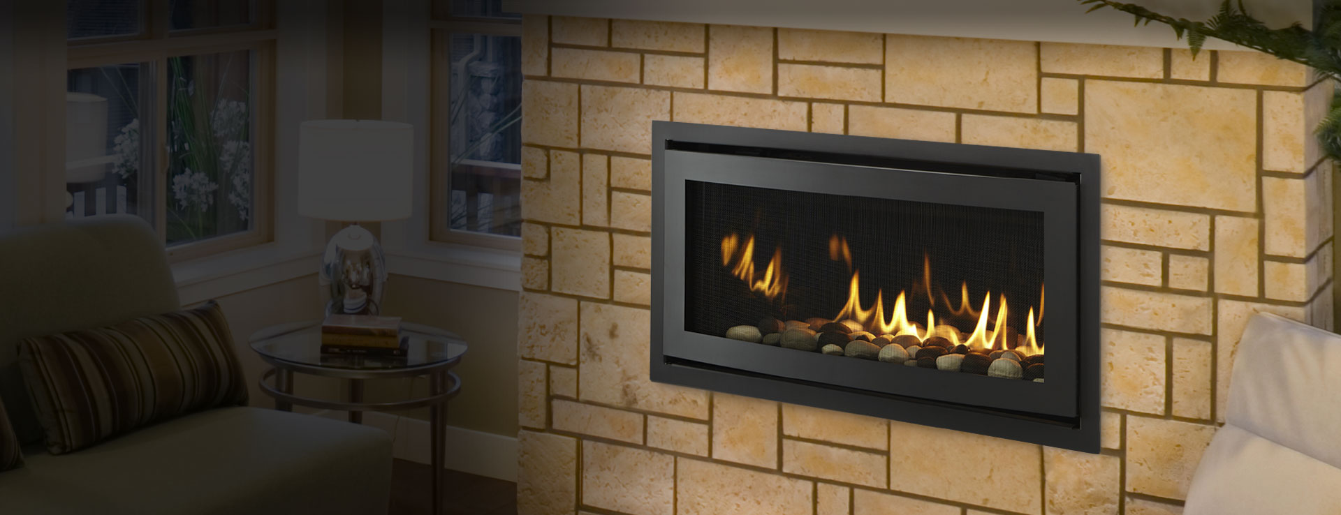 Gas Fireplaces  Rave  Kastle Fireplace