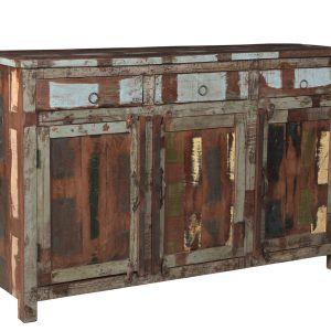 dressoir van recyceld teakwood