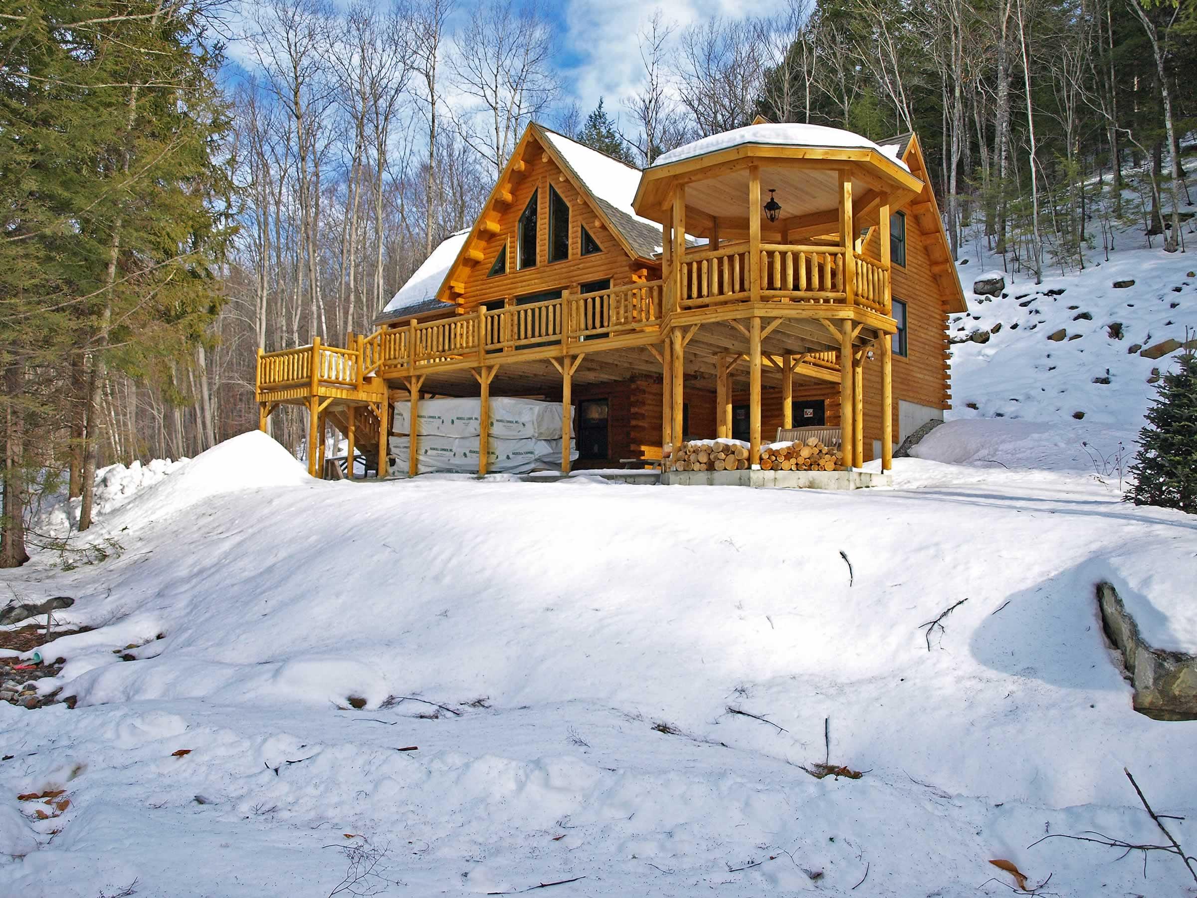 Sebec  07791  Katahdin Cedar Log Homes