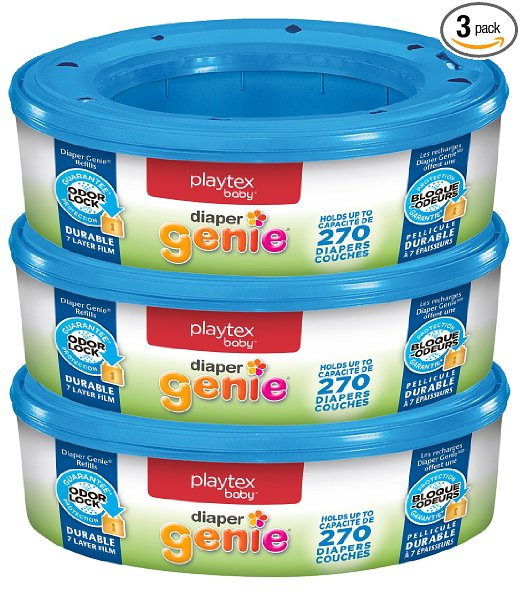 Playtex Diaper Genie Refills for Diaper Genie Diaper Pails