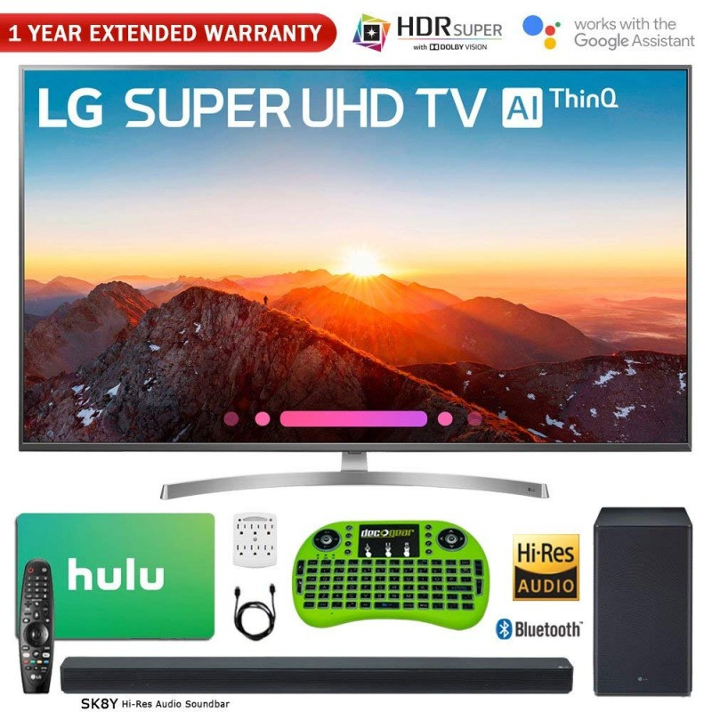 LG 65SK8000PUA 65-Inch Class 4K HDR Smart AI SUPER UHD TV w/ThinQ
