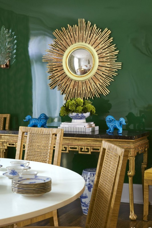 The 18 Most Colorful Dining Rooms Ever