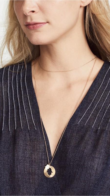 Jennifer Zeuner Jewelry Iris Fatima Necklace