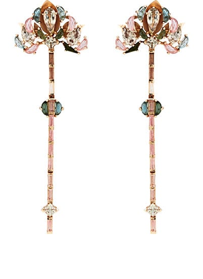 Nak Armstrong Lotus Drop Earrings