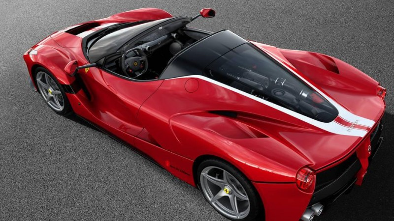 Cars And Concepts Is Ferrari Working On A Hybrid, 4-Cylinder Engine?