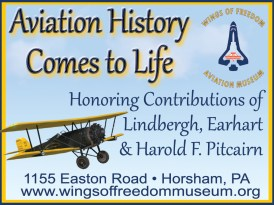 Delaware Valley Historical Aircraft Association ad