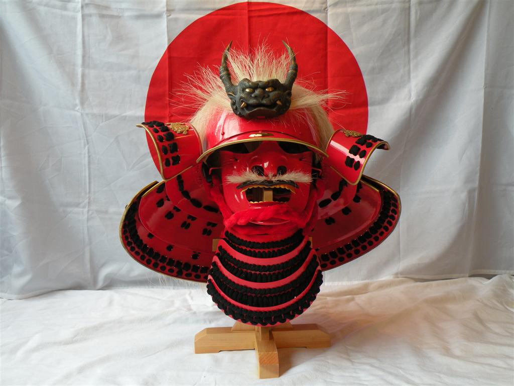 Takeda Shingen Kabuto and Menpo door Hanwei
