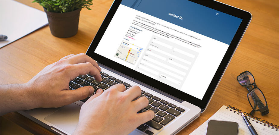 Online Contact Payment Registration Forms